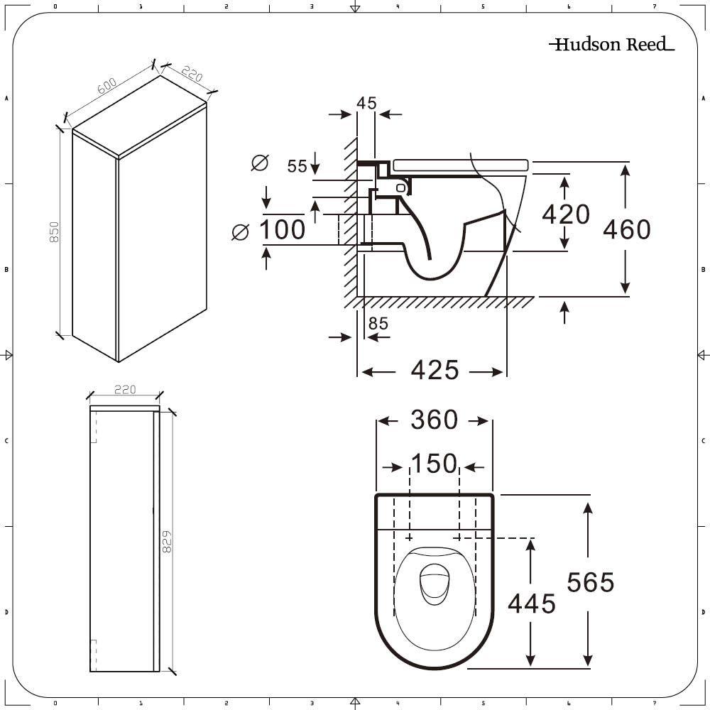 Afmeting Hangend Toilet.Hangend Toilet Afmetingen Qm843 Thefamilywallet