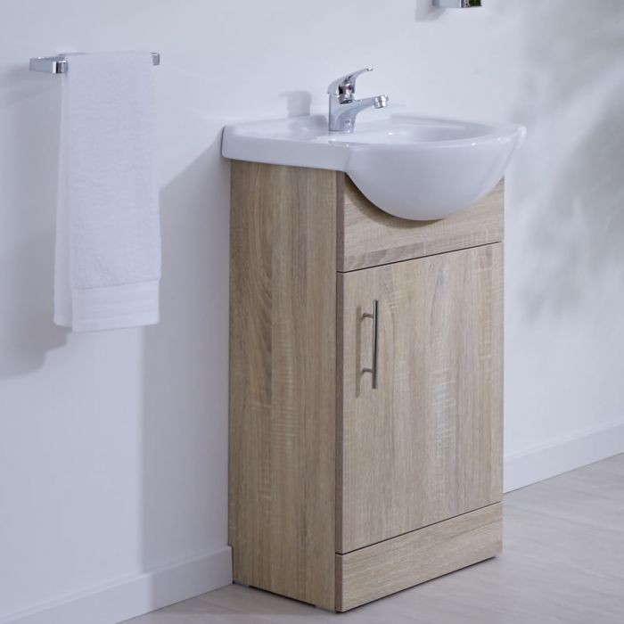 BASIC Toiletmeubel - 45cm x 44cm x 82cm