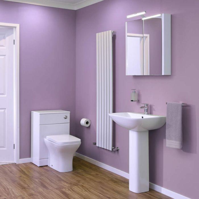Minimalist Wastafel & Toiletcombinatie