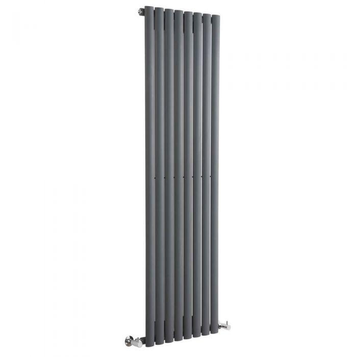 Revive Designradiator Verticaal Antraciet 160cm x 47,2cm x 5,6cm 1122 Watt