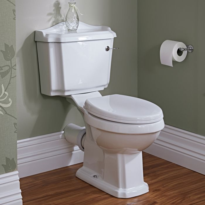 Toilet Belmont met Reservoir en Toiletzitting - Keramisch
