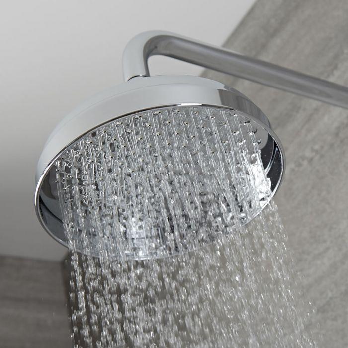 Verchroomd Massief Messing Klassieke Apron Douchekop - Aansluitmaat 15mm - D 20,5cm