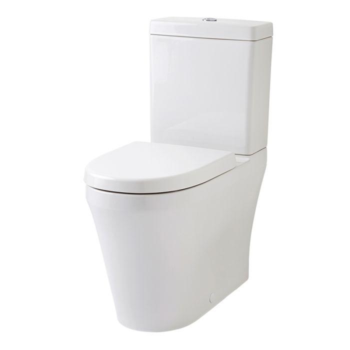 Verhoogd Duoblok Toilet Comfort Keramisch met Reservoir - 47cm Hoog