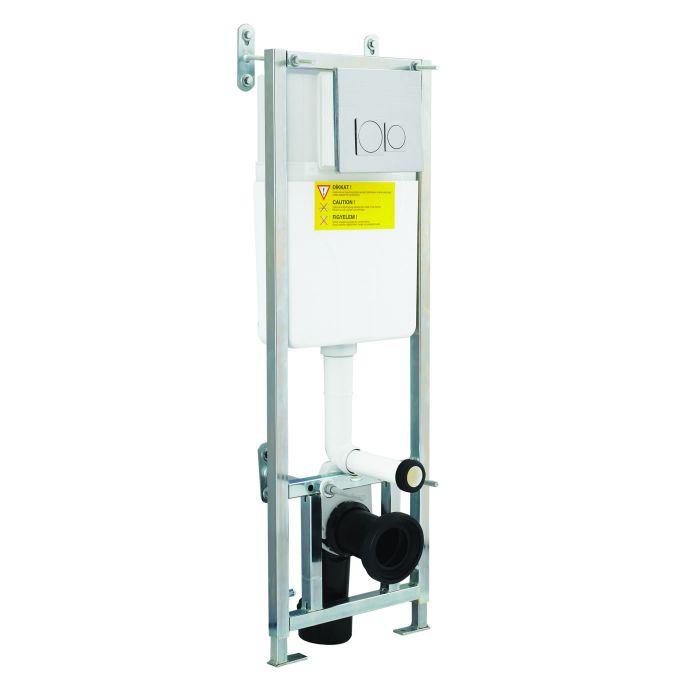 Verlengd Muurframe & Waterreservoir Althea Cento - Voor alle Hudson Reed Hangtoiletten