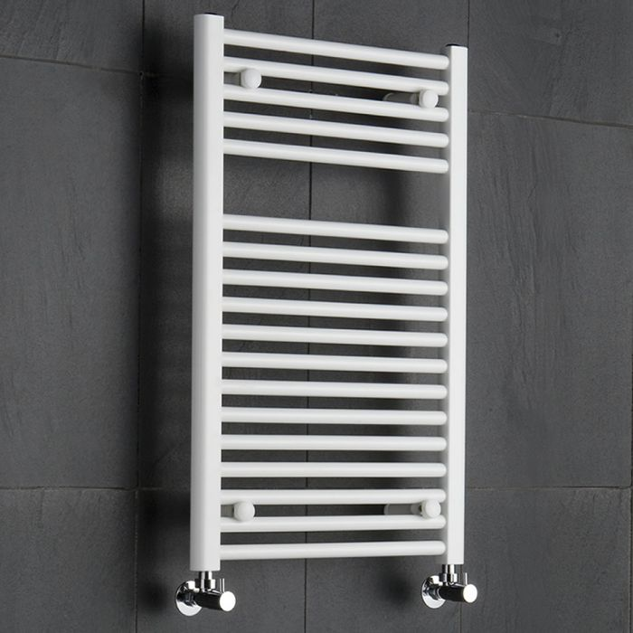 Etna Handdoekradiator Wit 80cm x 50cm x 5cm 474 Watt