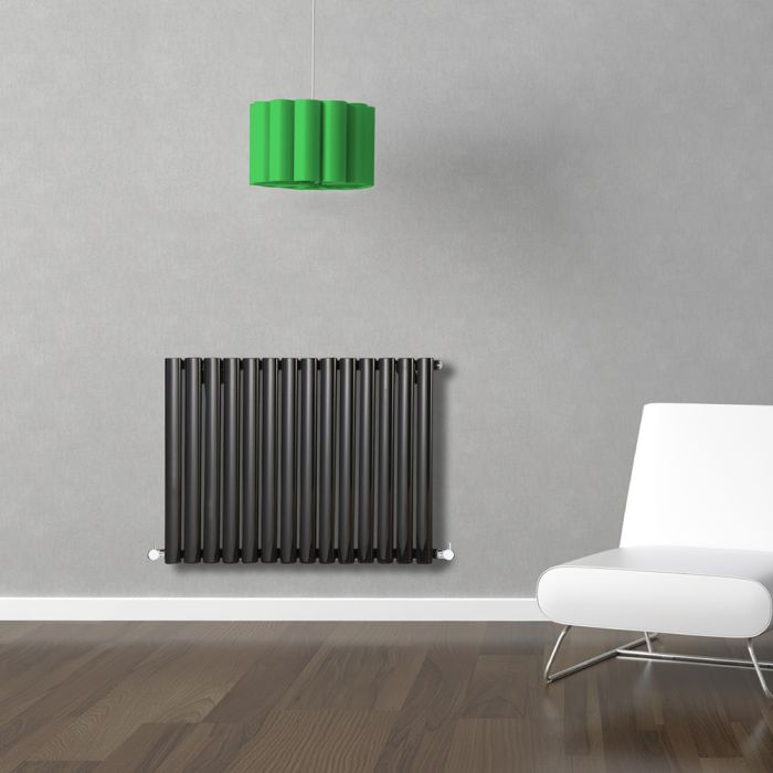 Revive Designradiator Horizontaal Zwart 63,5cm x 83,4cm x 5,6cm 836 Watt