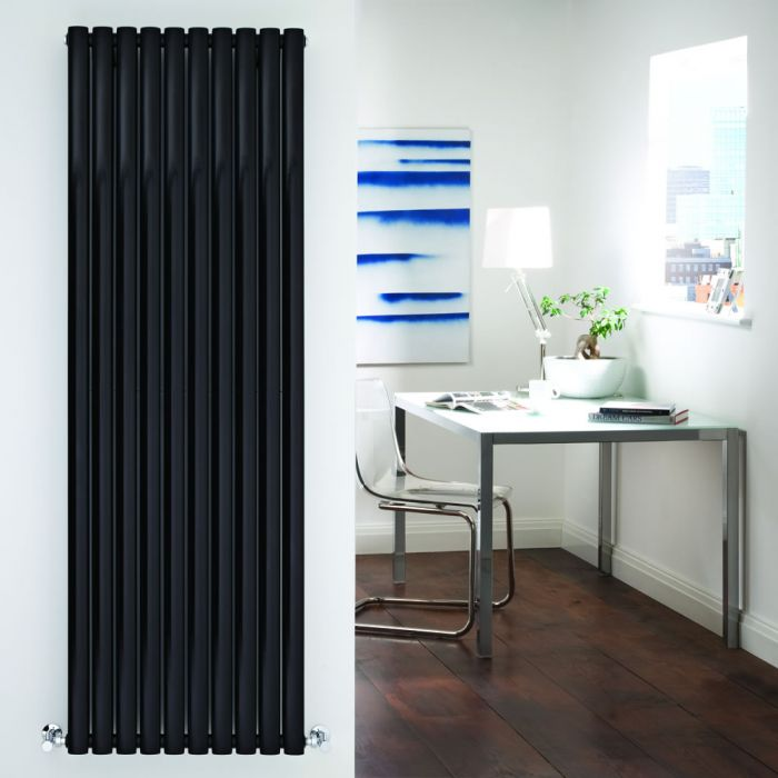 Revive Designradiator Verticaal Zwart 178cm x 160cm x 7,8cm 2335 Watt