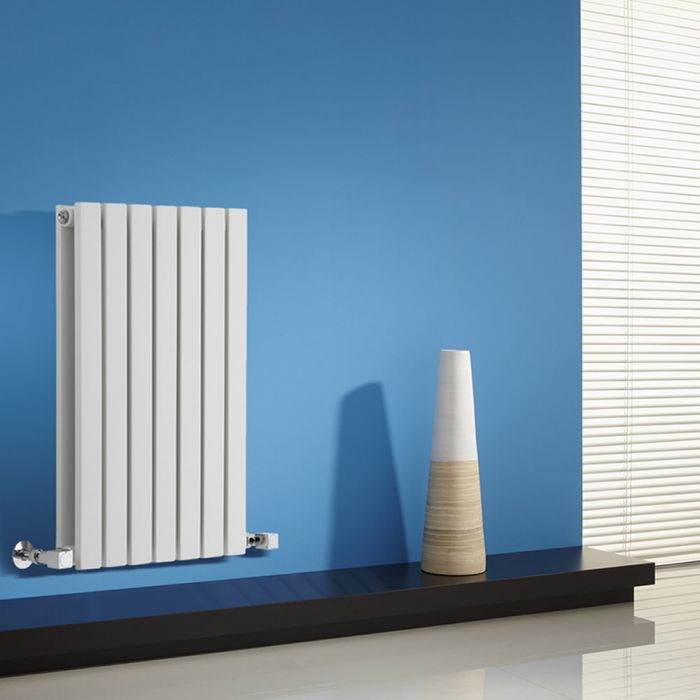 Sloane Designradiator Horizontaal Wit 63,5cm x 42cm x 7,1cm 653 Watt