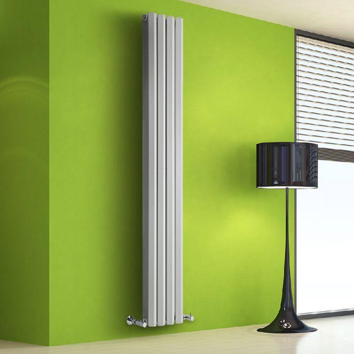 Helius Designradiator Verticaal Wit 178cm x 28cm x 8,6cm 1079 Watt
