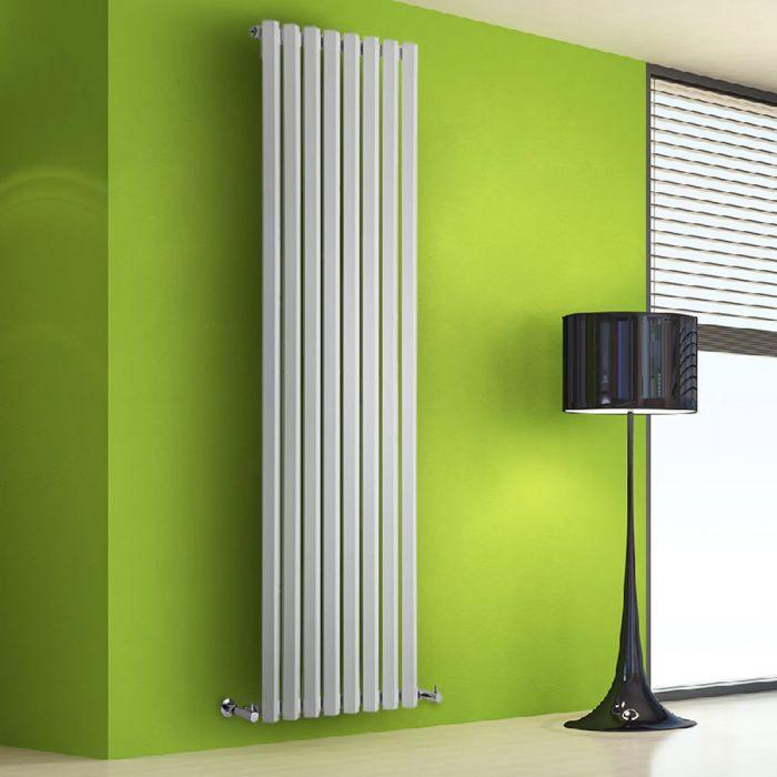 Helius Designradiator Verticaal Wit 178cm x 56cm x 6cm 1401 Watt