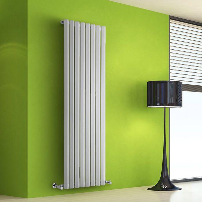 Helius Designradiator Verticaal Wit 160cm x 56cm x 6cm 1261 Watt