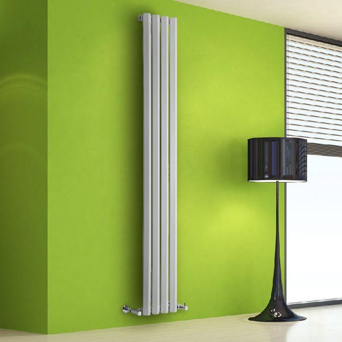 Helius Designradiator Verticaal Wit 178cm x 28cm x 6cm 700 Watt
