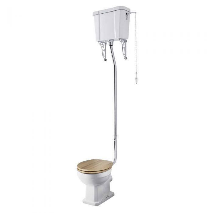 Richmond Toilet met Hoog Reservoir en keuze Toiletzitting