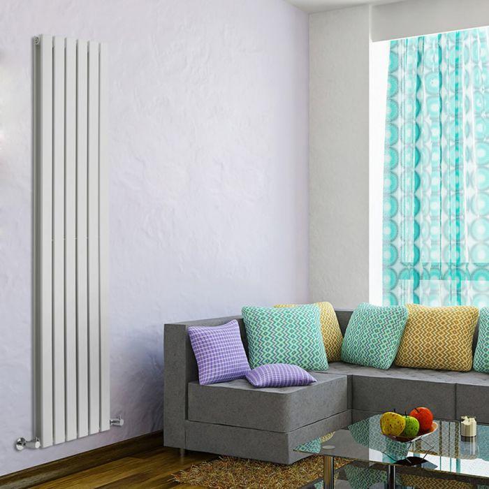 Delta Designradiator Verticaal Wit 178cm x 42cm x 6cm 1484 Watt