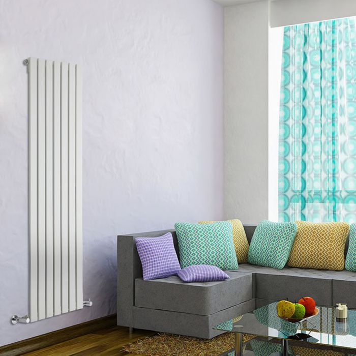 Delta Designradiator Verticaal Wit 160cm x 49cm x 4,7cm 1026 Watt