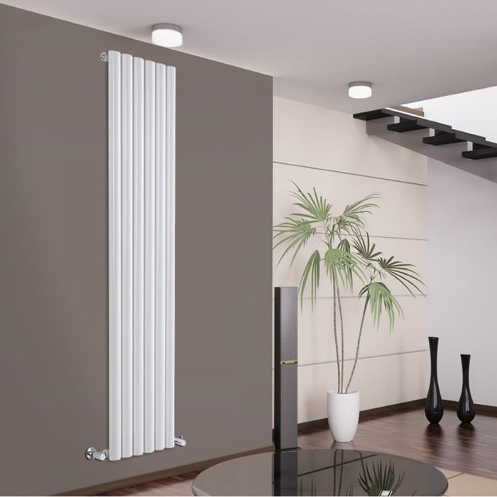 Savy Designradiator Verticaal Wit 178cm x 35,4cm x 8cm 1043 Watt