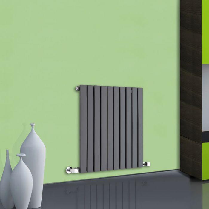 Sloane Designradiator Horizontaal Antraciet 63,5cm x 60cm x 5,4cm 601 Watt
