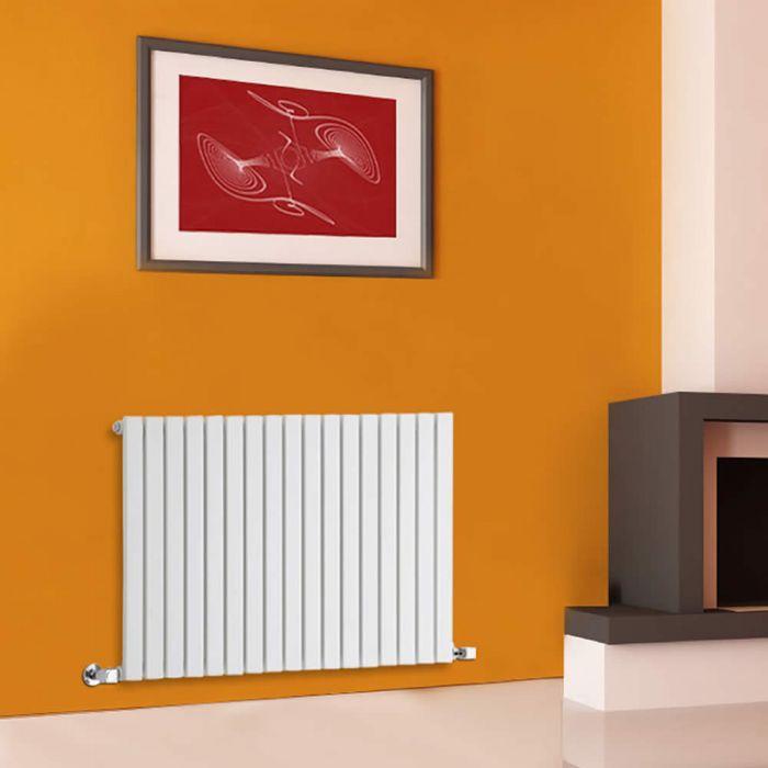 Sloane Designradiator Horizontaal Wit 63,5cm x 100cm x 5,4cm 1022 Watt