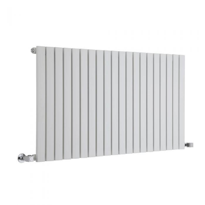 Sloane Designradiator Horizontaal Wit 63,5cm x 118cm x 5,4cm 1203 Watt
