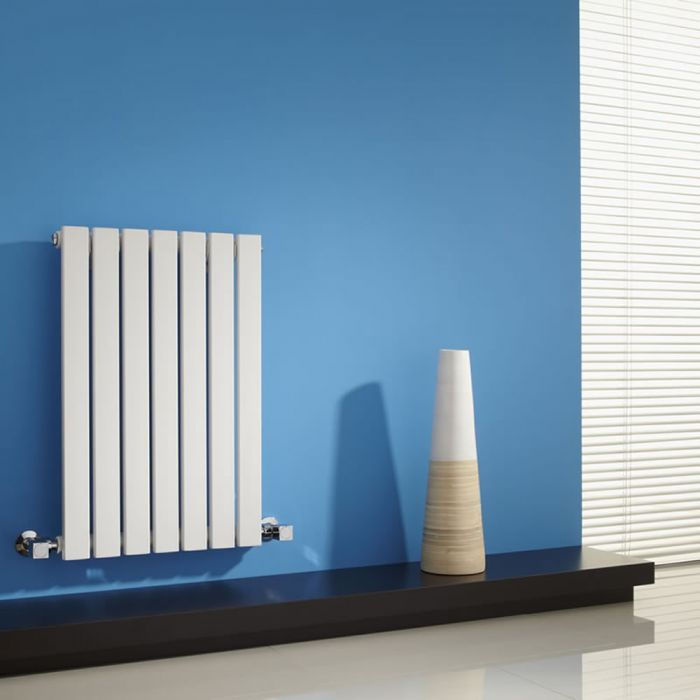 Sloane Designradiator Horizontaal Wit 63,5cm x 42cm x 5,4cm 421 Watt
