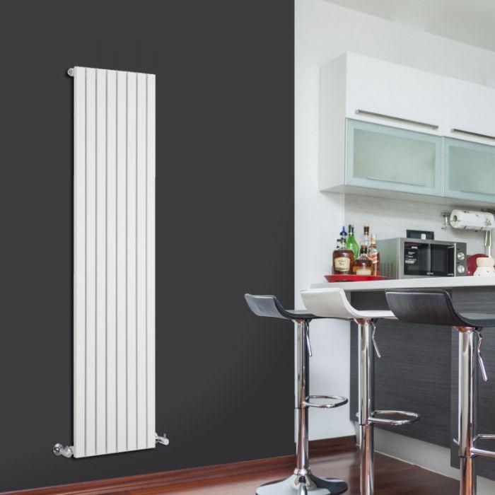 Sloane Designradiator Verticaal Wit 160cm x 47,2cm x 5,3cm 1149 Watt