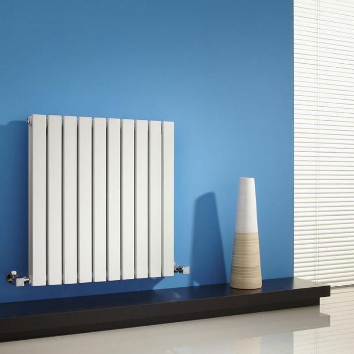Sloane Designradiator Horizontaal Wit 63,5cm x 60cm x 7,1cm 934 Watt
