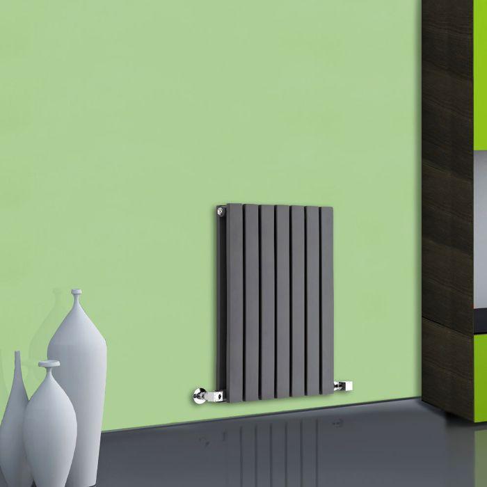 Sloane Designradiator Horizontaal Antraciet 63,5cm x 42cm x 7,1cm 653 Watt