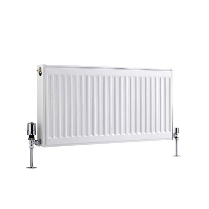 Basic Paneelradiator T 21 Horizontaal Wit 40cm x 80cm x 7,3cm 765 Watt