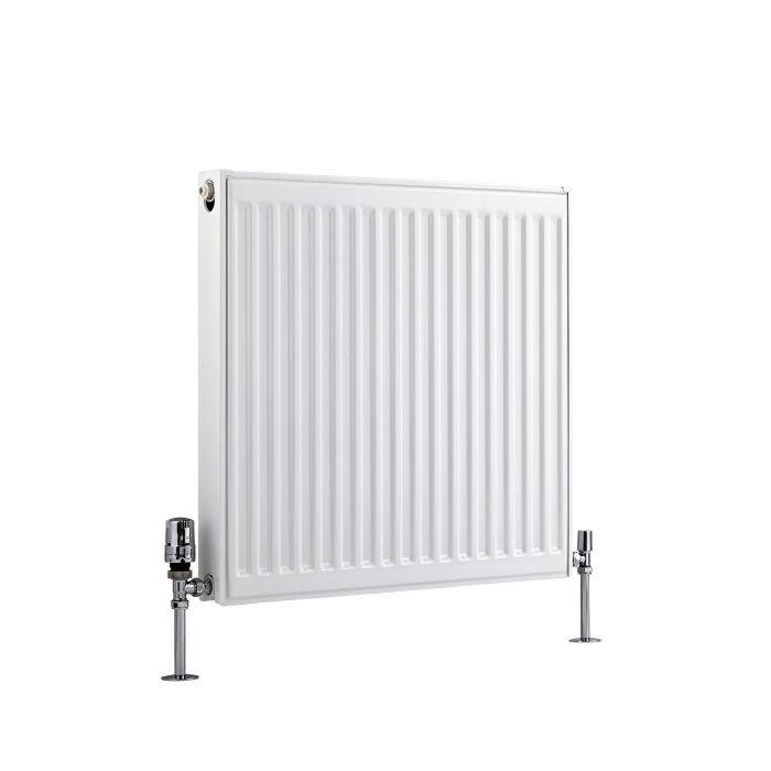 Basic Paneelradiator T 21 Horizontaal Wit 60cm x 60cm x 7,3cm 803 Watt
