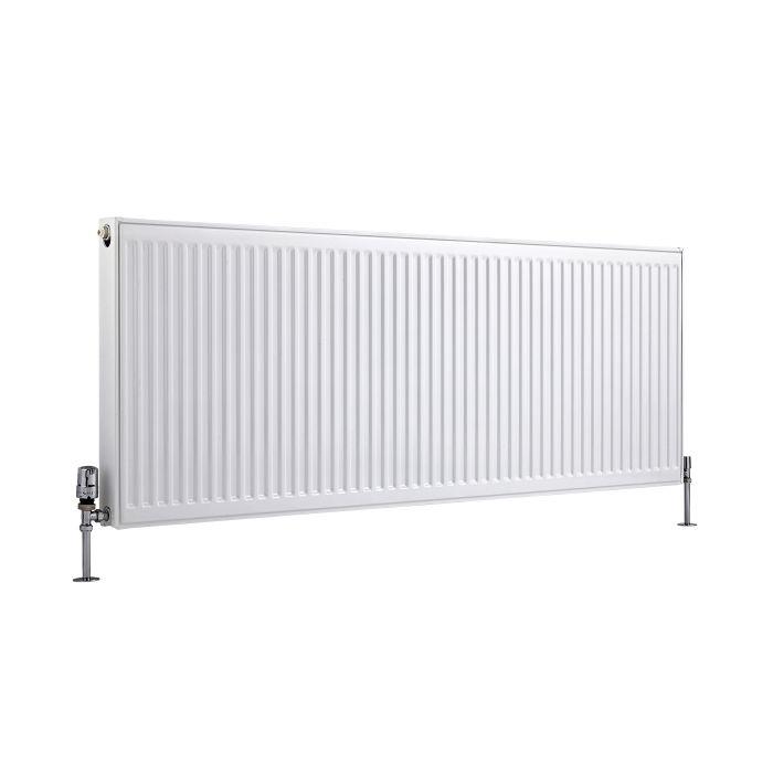Basic Paneelradiator T 21 Horizontaal Wit 60cm x 160cm x 7,3cm 2142 Watt