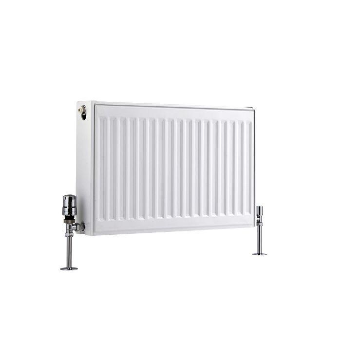 Basic Paneelradiator T 22 Horizontaal Wit 40cm x 60cm x 10,3cm 693 Watt