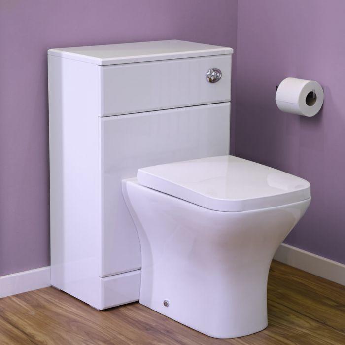 Modern Wit Keramiek Toilet exclusief Stortbak