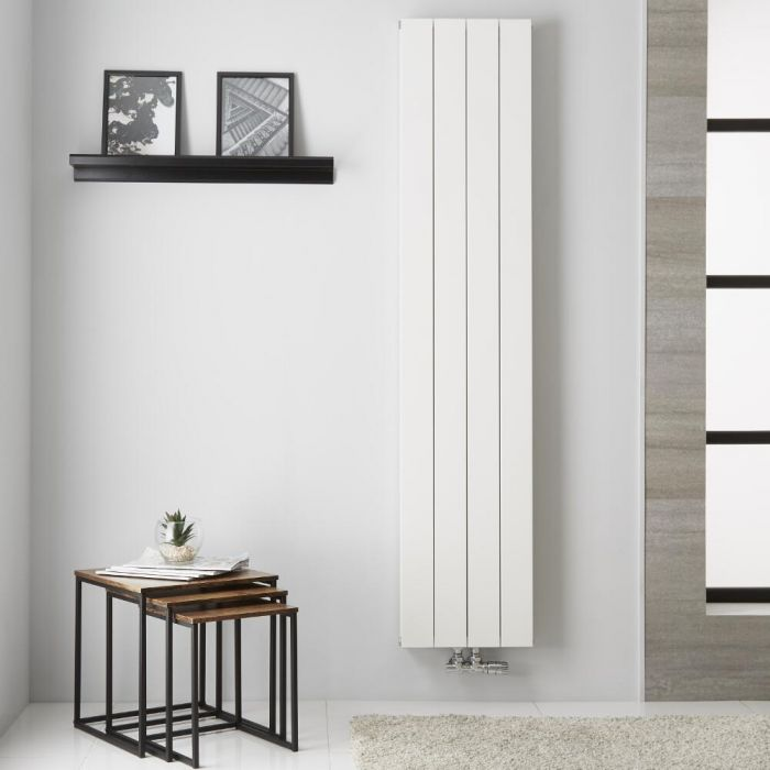 Kett Aluminium Designradiator Dubbelpaneel Wit 180 x 37,5 cm 1439 Watt