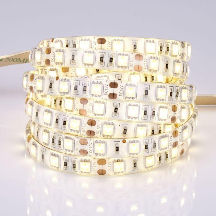 Biard IP65 Waterbestendige LED 5050 strip verlichting - 5m - Warm wit