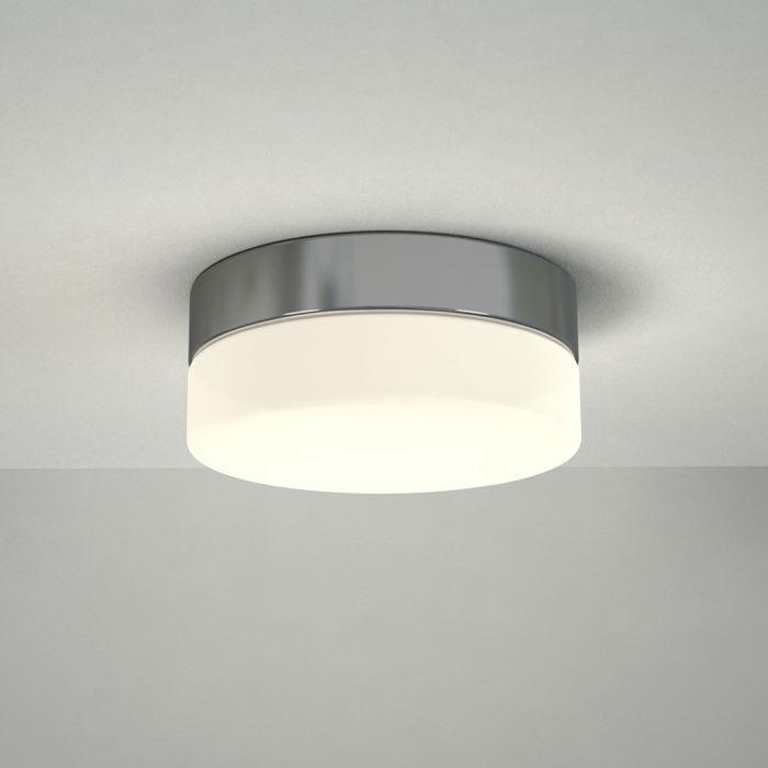 Tahoe LED Badkamer Plafondlamp Rond d. 23m Chroom 12W LED IP44