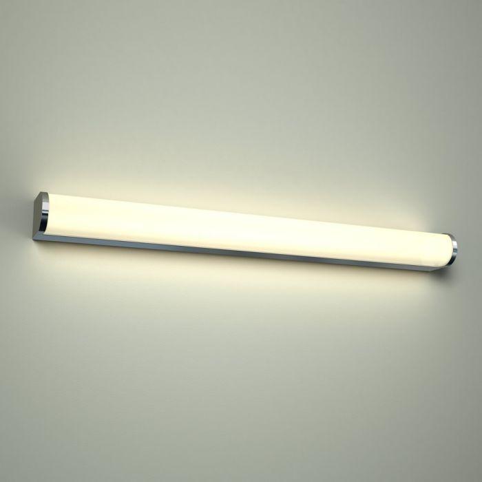 Varese LED Badkamer Wandlamp D-uitvoering  60 x 7 x 5cm 12W Chroom LED IP44