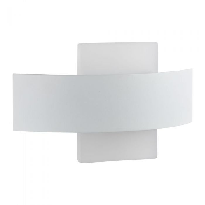 Biard Aqua Wandlamp 11W SMD LED IP54 Vierkant Wit