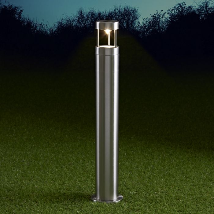 Niort Dimbare Sokkellamp 60cm Hoog RVS-GU10 IP44