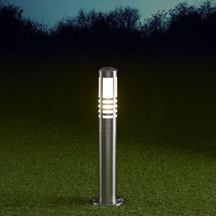 Biard Orleans Dimbare Sokkellamp 45cm RVS E27 IP44