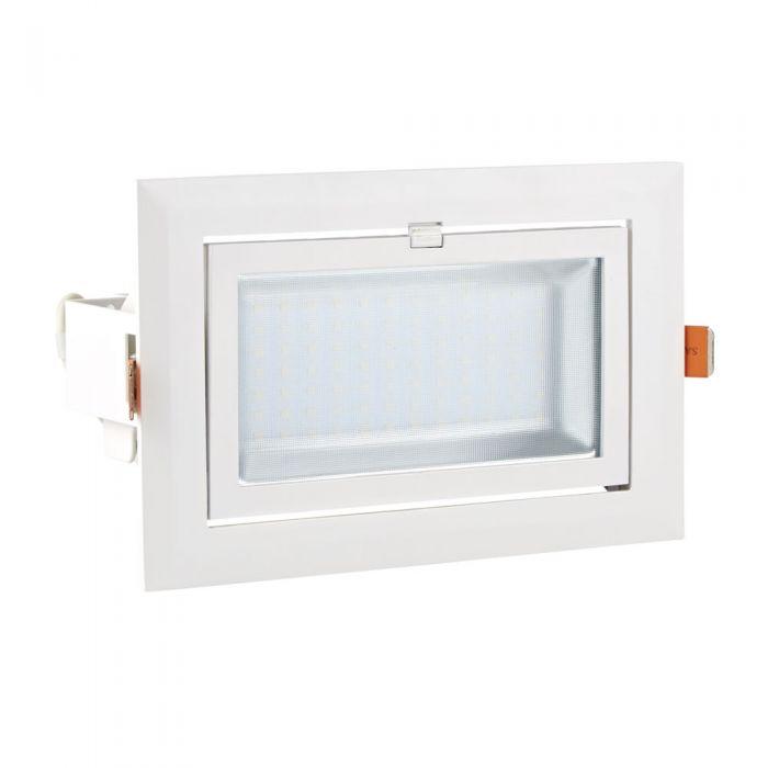 Biard 40W Kantelbare COB LED Wandlamp / Plafondlamp - Wit
