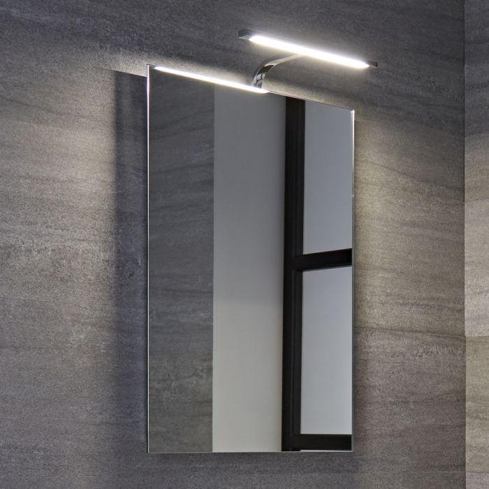 Biwa 5W IP44 LED Badkamerspiegel Chroom Anti-mist 50 x 70 x 15cm