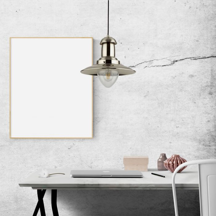 Biard Brixham Nautische Hanglamp E27 Chroom