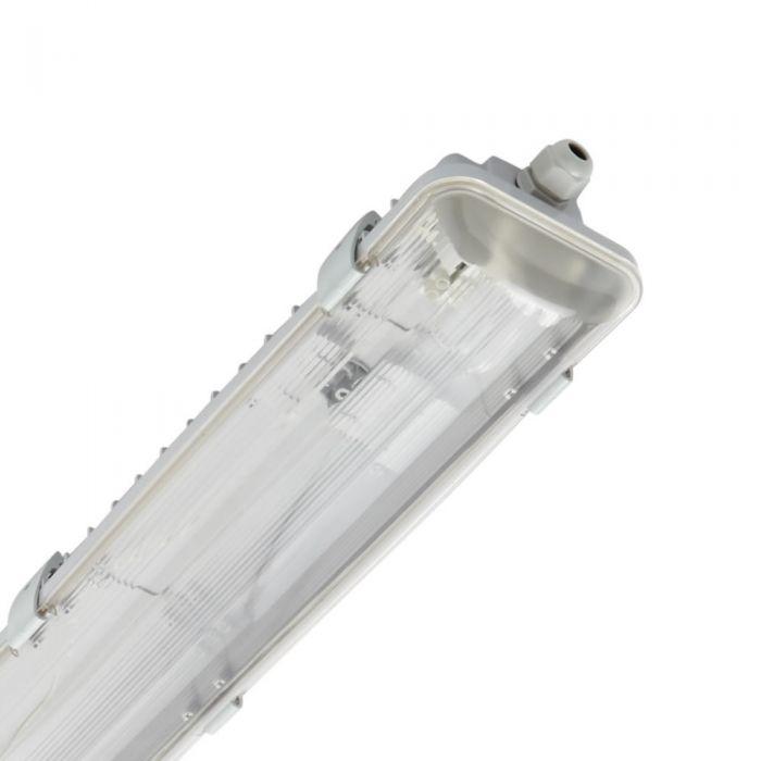 Biard LED TRI-proof Armatuur - Dubbel - IP65 - 66,5 x 11,8 x 8,3cm