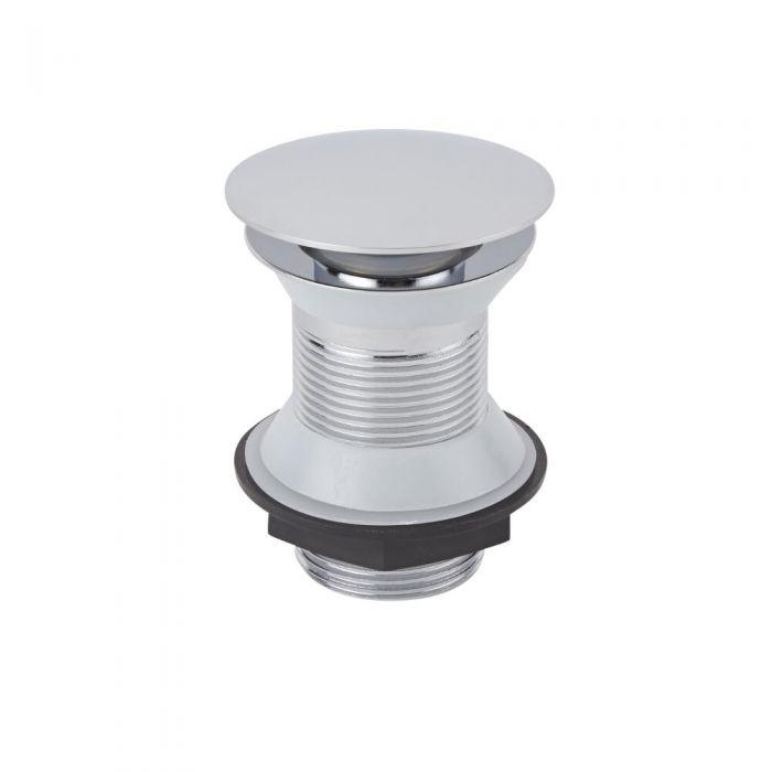 Drukknop Wastafel Afvoerplug (voor wastafels zonder overloop)