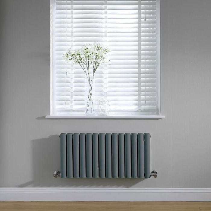 Revive Design Radiator Horizontaal Antraciet 40cm x 83,4cm x 7,8cm 619Watt