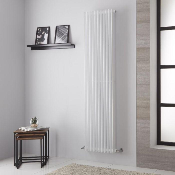 Arezzo Designradiator Verticaal Wit 180cm x44,5cm 1428Watt