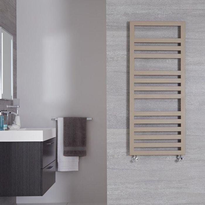 Urbino Designer Handdoekradiator Mineraal Kwarts 120cm x 50cm 618Watt
