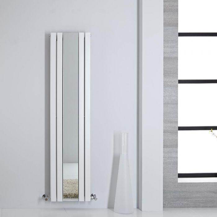 Sloane Spiegelradiator Dubbelpaneel 160cm x 38,5cm x 7,2cm Wit 1212Watt
