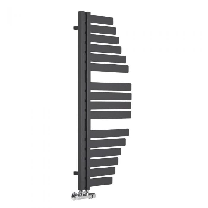 Spinnaker Designer Handdoekradiator Antraciet 110cm x 48,3cm 507Watt