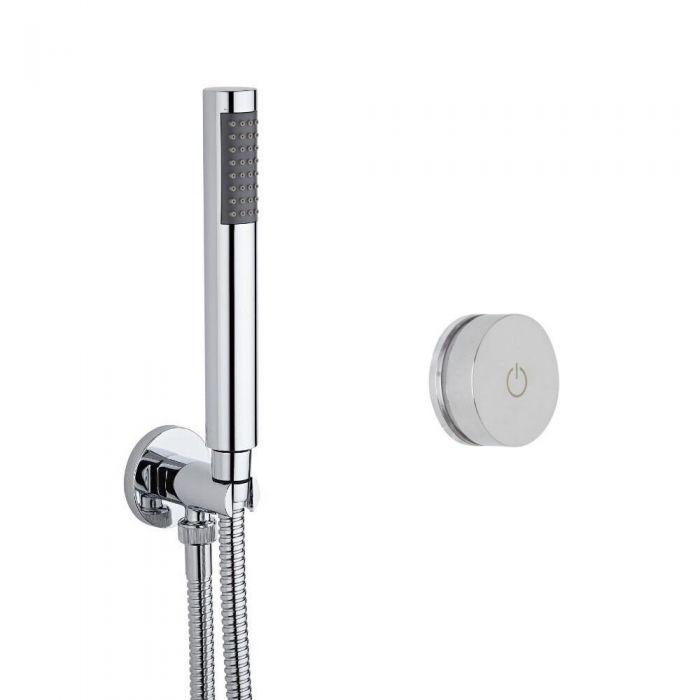 1-weg Digitale Thermostaatkraan met Handdouche Combinatie Rond